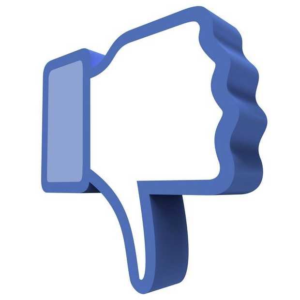 Facebook komt met 'dislike' knop