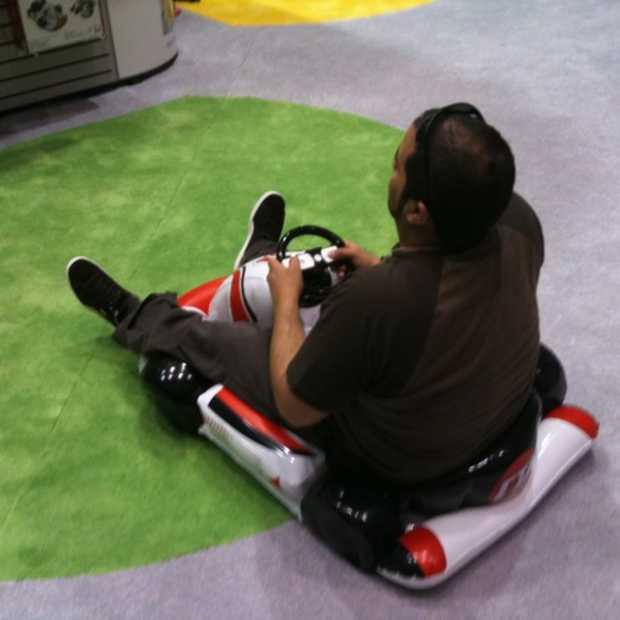 Dit is pas een Mario Kart controller!
