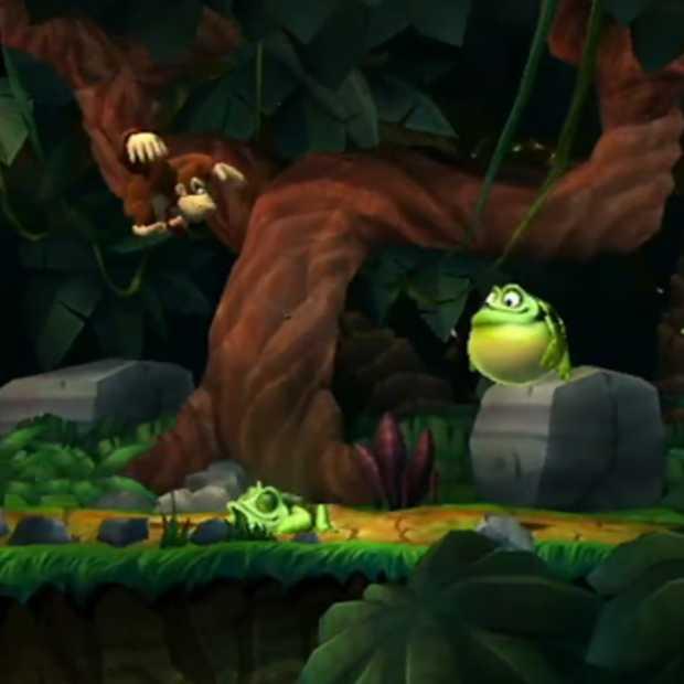 Donkey Kong Country is terug en nog net zo 2D als toen