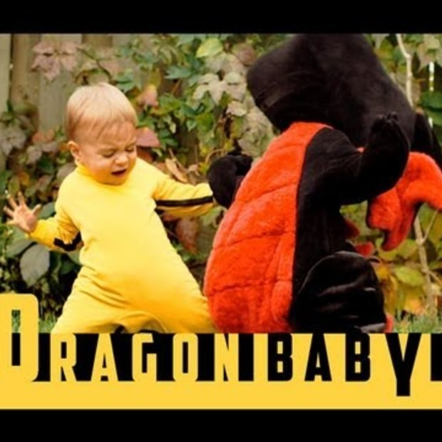 Weekend Viral : Dragon Baby