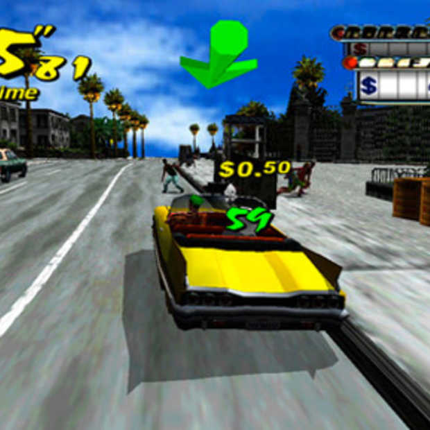 Dreamcast games komen; Crazy Taxi, Sonic Adventure eerst