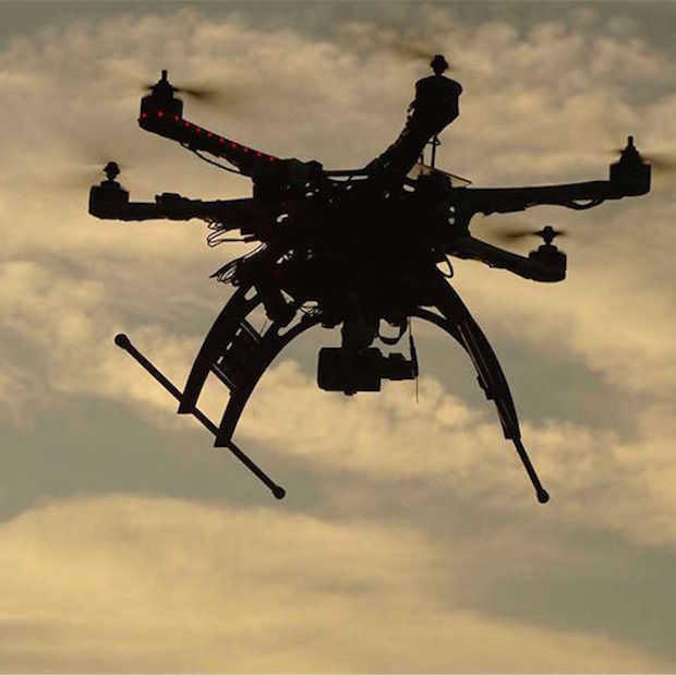 Steeds inventiever gebruik van drones