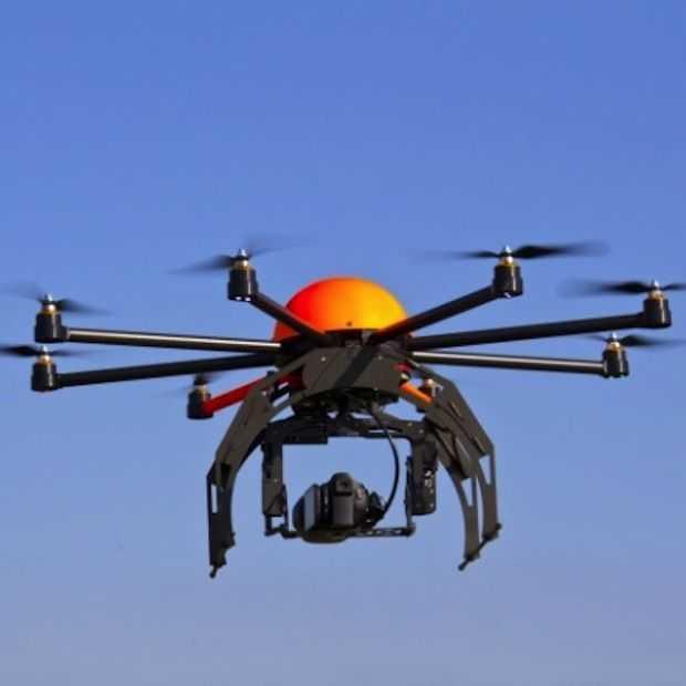 Boze Amerikaan schiet drone uit de lucht