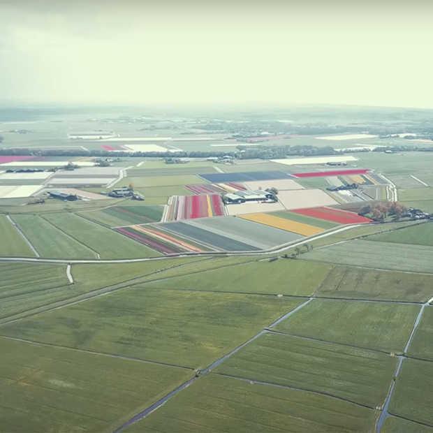 Prachtige dronebeelden van twee toeristische plekken in Noord-Holland