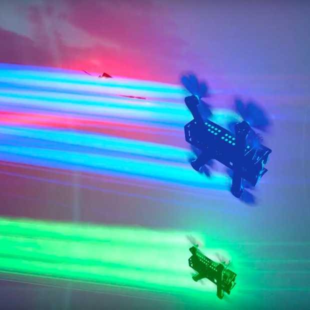 Is drone racen de sport van de toekomst?