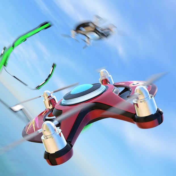 In 2017 wordt het eerste NK drone racen outdoor gehouden