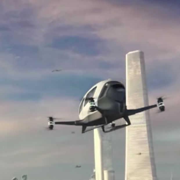 Je kunt deze zomer nog een drone-taxi nemen in Dubai