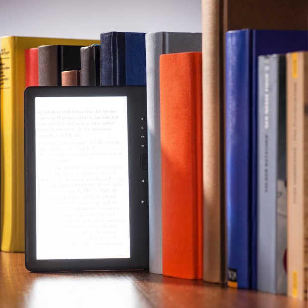 Een op de twintig verkochte boeken is digitaal