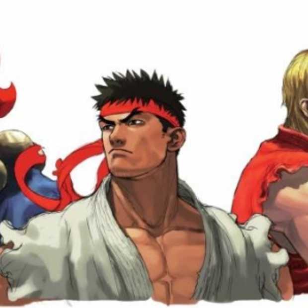 Echte Street Fighter kunst binnen handbereik