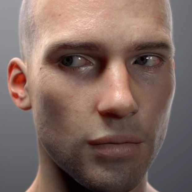 Bizar! Digital Artist Chris Jones maakt gezicht dat niet van werkelijkheid te onderscheiden is