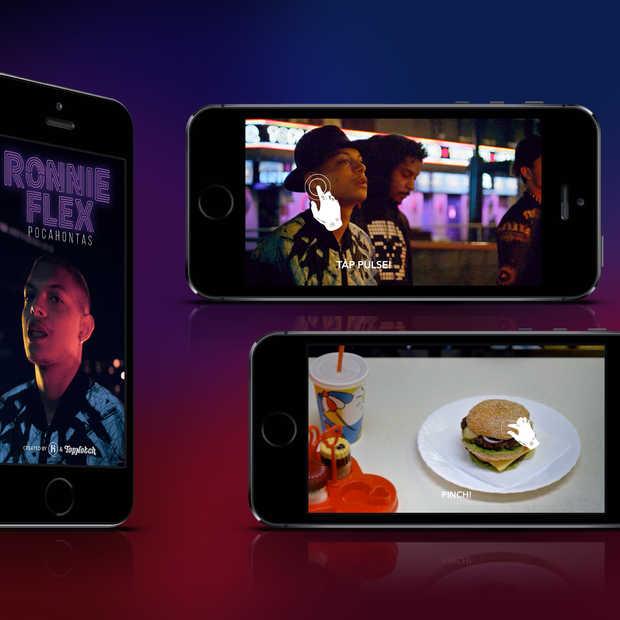 Een interactieve 'mobile first' muziekvideo