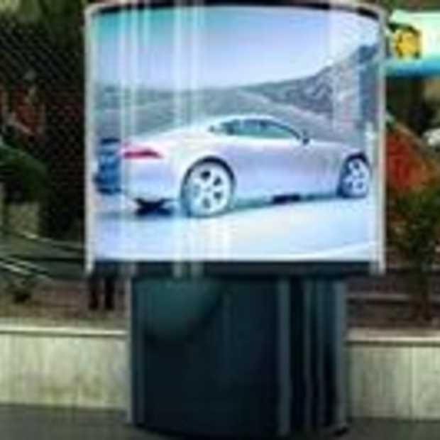 Eerste 360 graden beeldscherm