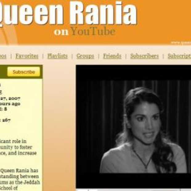 Eigen YouTube kanaal voor Queen Rania