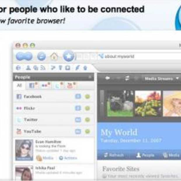 En we noemen haar Flock, the Social Media browser