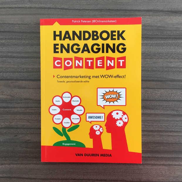 Maak kans op het gloednieuwe praktische Handboek Engaging Content