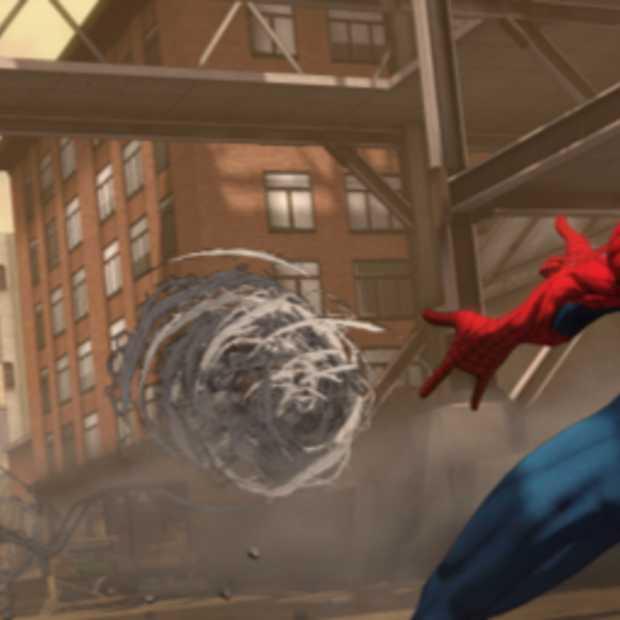 Er zwaait wat voor Spiderman: Shattered Dimensions