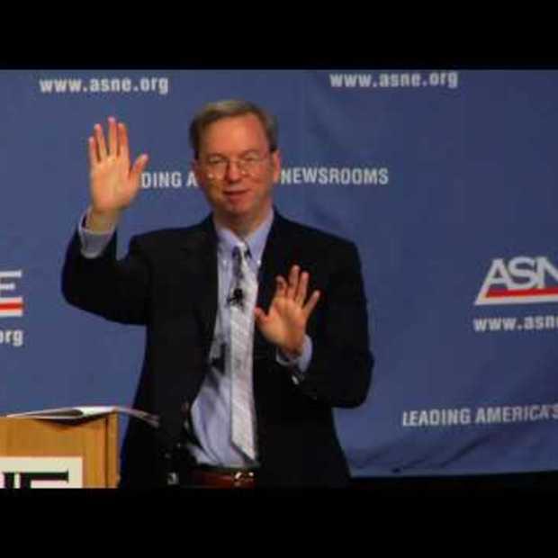 Eric Schmidt op de ASNE NewsNow 2010