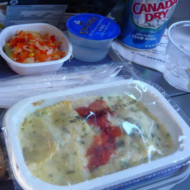 Eten in vliegtuigen: economy vs. business class