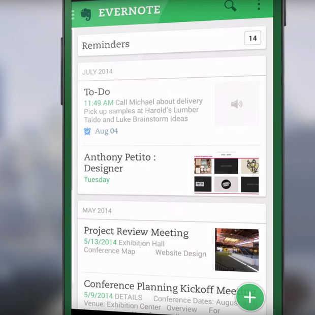 Evernote kan straks meelezen met je notities als je nu niets doet