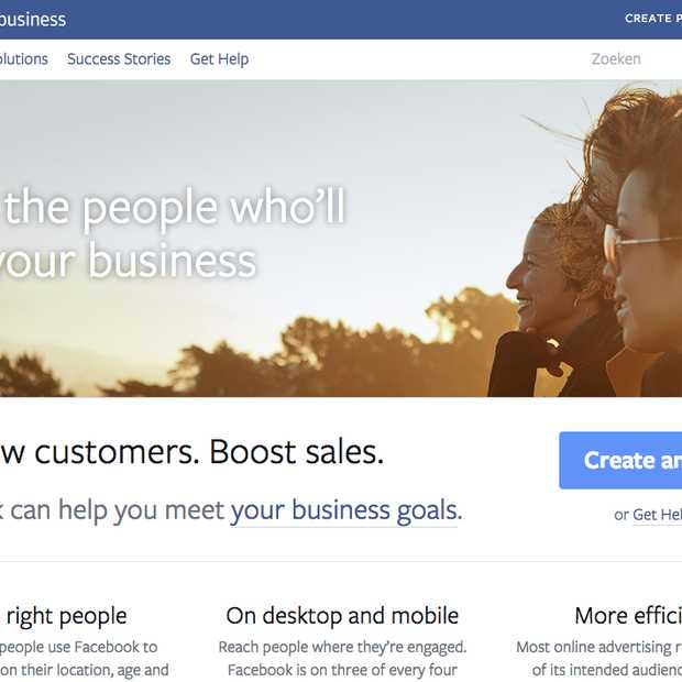 Facebook for Business nu beschikbaar in 12 talen