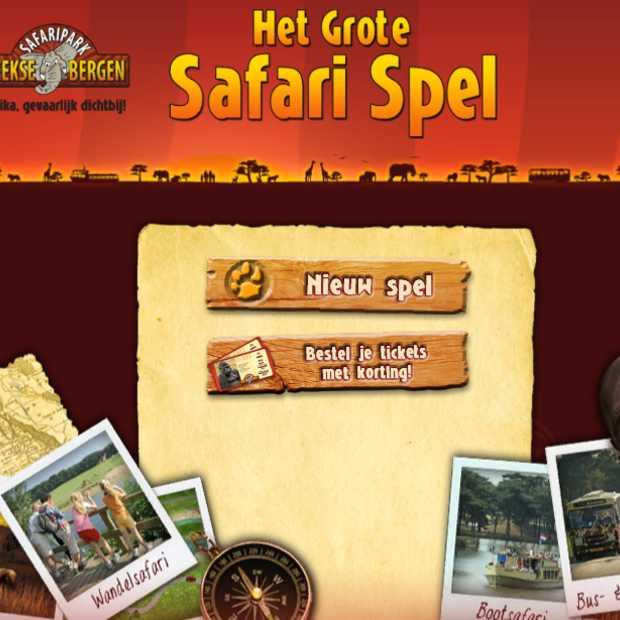 Facebook game van Safaripark Beekse Bergen