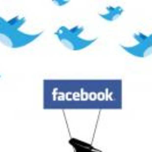 Facebook groeit 2x sneller dan Twitter