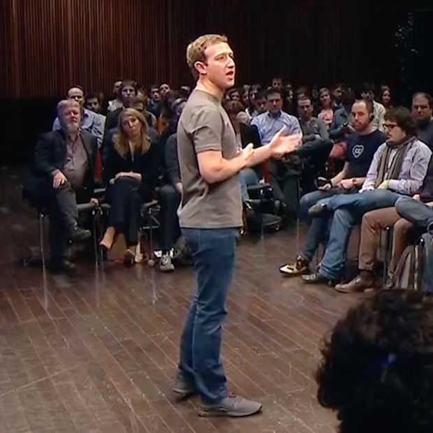 Mark Zuckerberg werkt alleen met mensen waar hij ook voor zou werken