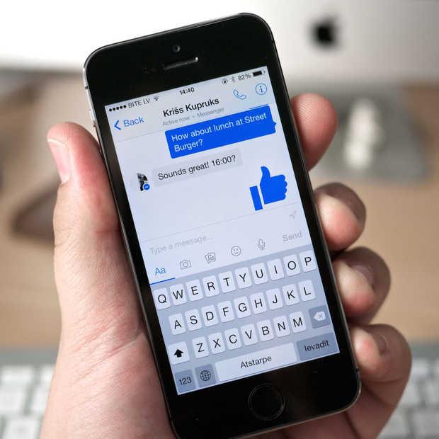 Facebook Messenger heeft 1 miljard actieve gebruikers