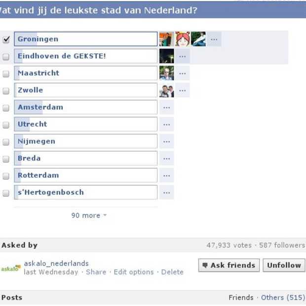 Facebook polls: een boost voor je Facebookpagina?