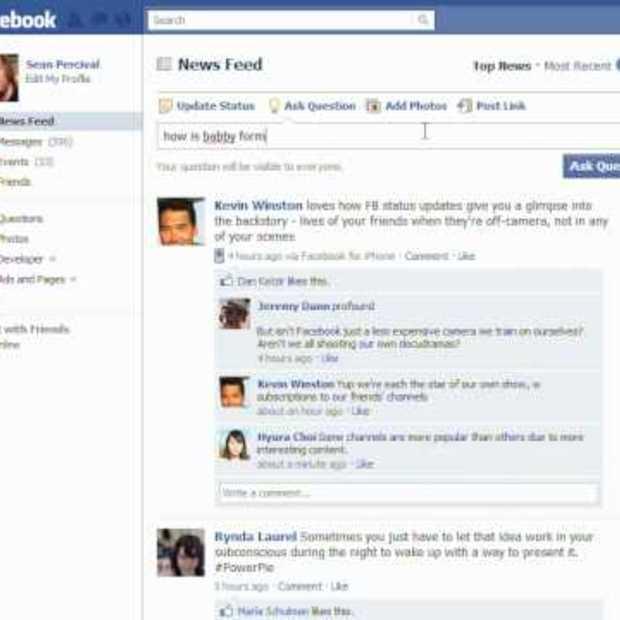 Facebook Questions Rick Roll