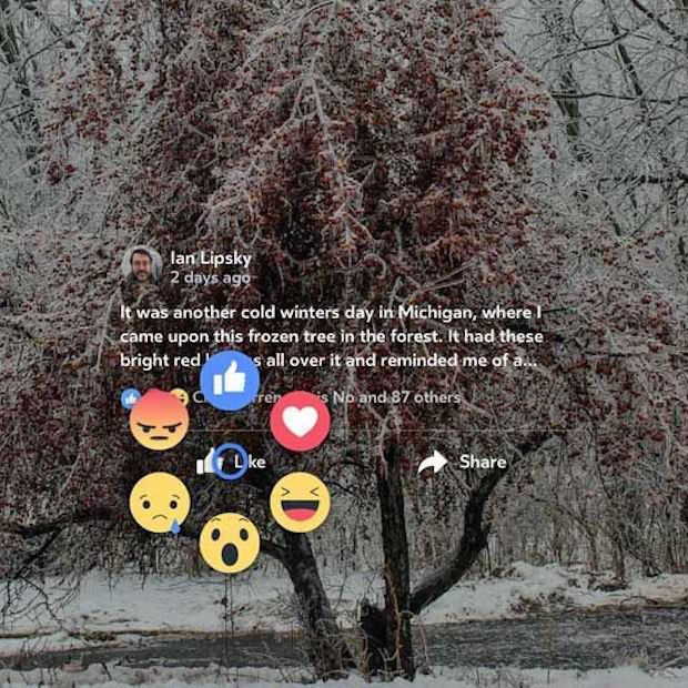 Facebook Reactions in virtual reality met Oculus