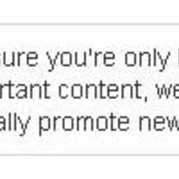 Facebook stopt met het automatisch promoten van 'Page posts'
