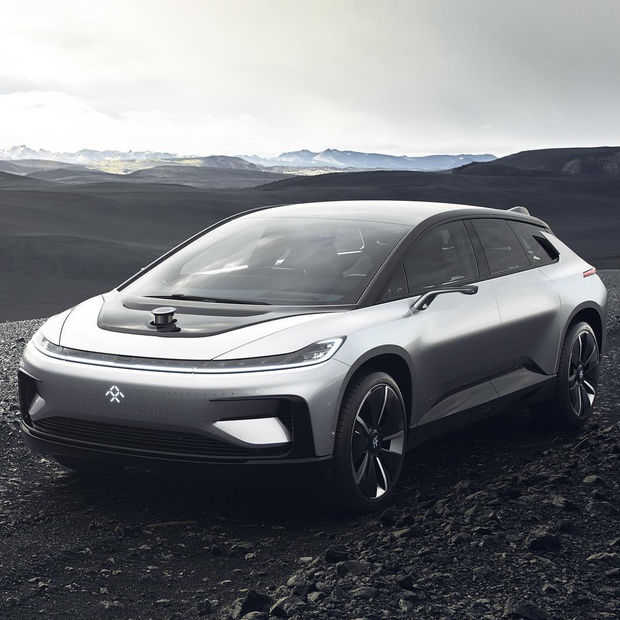 CES: De Faraday Future FF 91 gaat sneller en verder dan de beste Tesla