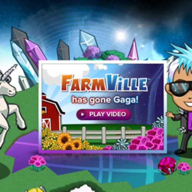 FarmVille niet veilig voor Gaga: marketing meets...more marketing