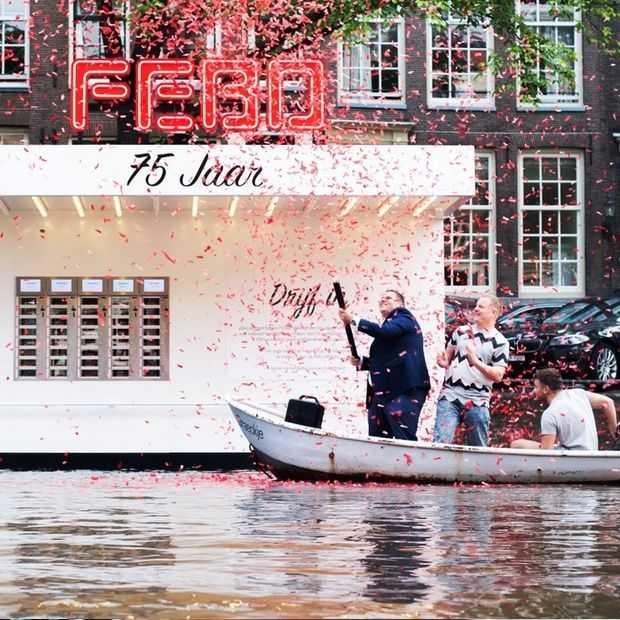 Leuk: de eerste FEBO op het water is open