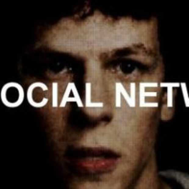 Filmposter 'The Social Network' het verhaal over Facebook