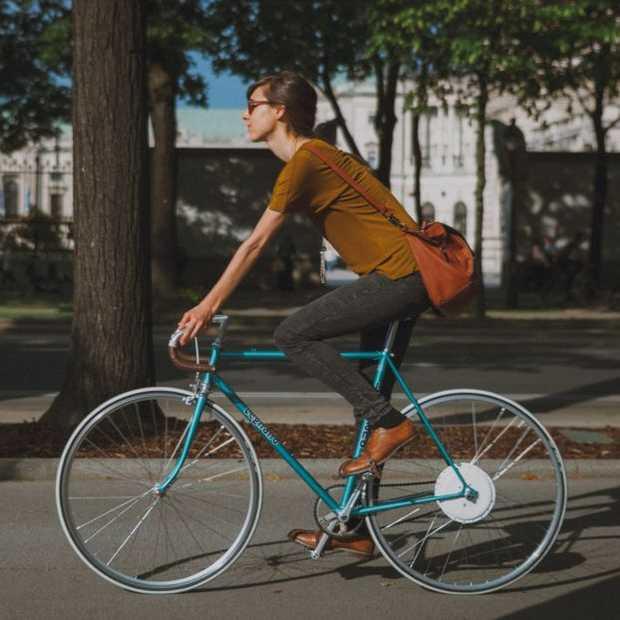 CES 2015: FlyKly; geen elektrische fiets maar een elektrisch wiel