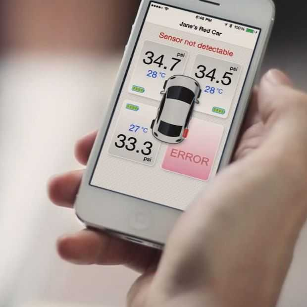 Deze handige gadget meet je bandenspanning via Bluetooth