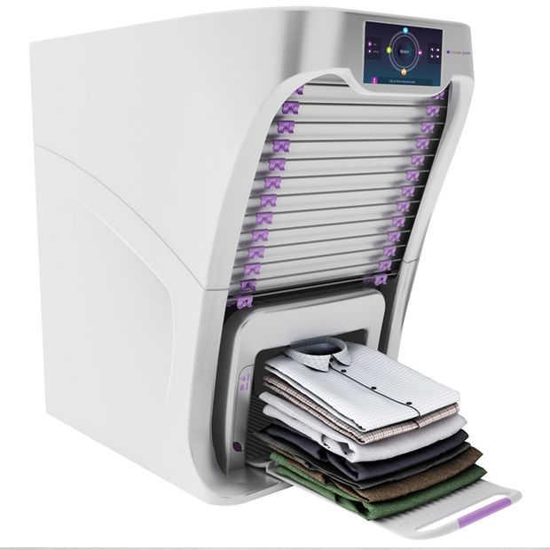 Handig: de Foldimate robot vouwt en verfrist je kleren voor je