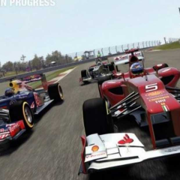 Formula 1 2012 op Gamescom: Pittige simulatie