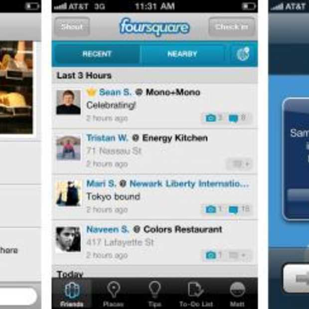 FourSquare voegt foto's en reacties toe