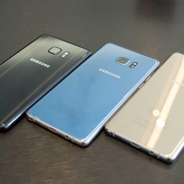 Samsung deelt uitkomsten onderzoek Note 7: het was de batterij