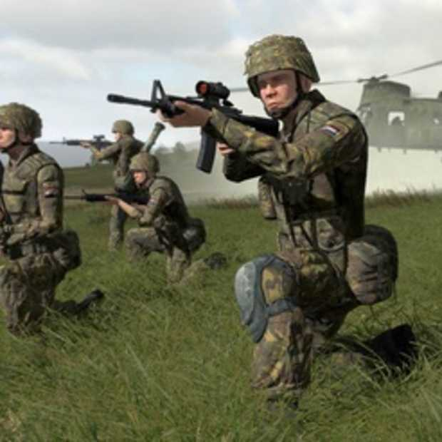 Game voor soldaten in ontwikkeling