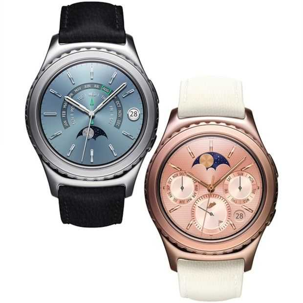 De Gear S2 is er nu ook in goud en platina