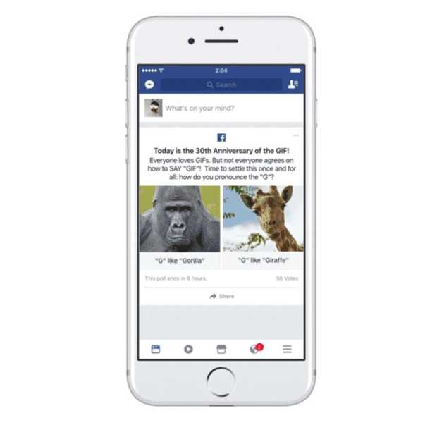 Facebook laat iedereen nu GIF'jes plaatsen in reacties