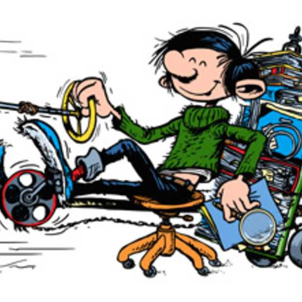 Google Doodle: Guust Flater