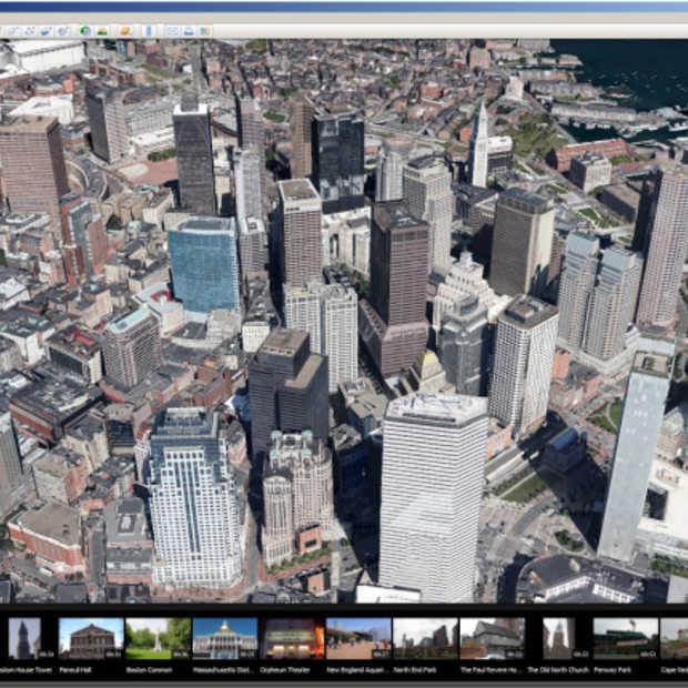 Google Earth 7 voor desktops bevat nu ook 3D en tour guide
