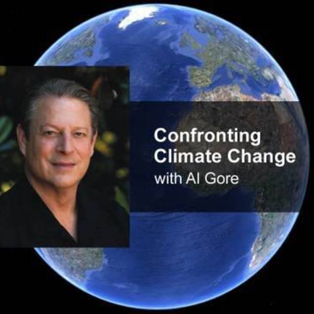 Google Earth Climate introductory (Al Gore Climate Change)