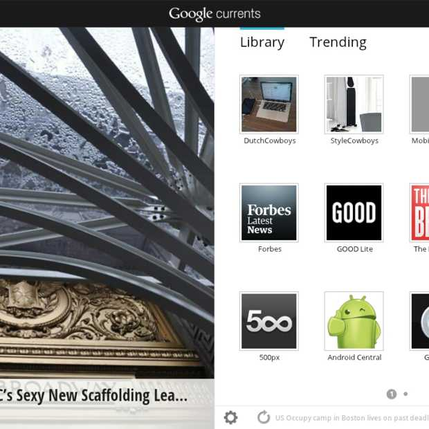 Google lanceert Google Currents