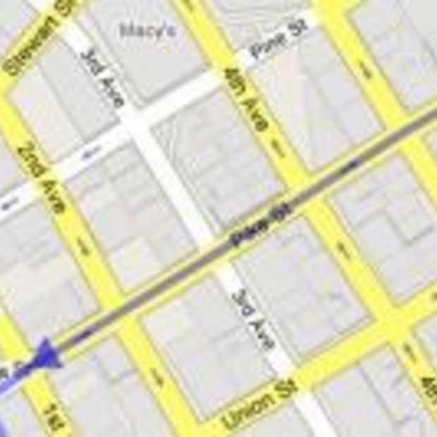 Google Maps ook voor voetgangers